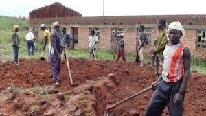 Work in Progress - Employing local workers in the Democratic Republic of Congo to build a school